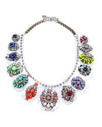 Shourouk - Metallic Duma Kami Necklace - Lyst
