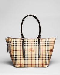 Burberry | Brown Tote Small Salisbury | Lyst