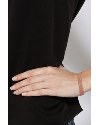 Carolina Bucci - Pink Silk Gold Woven Bracelet - Lyst