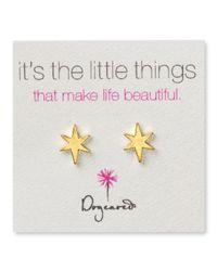 Dogeared - Metallic Bright Star Earrings - Lyst