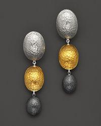 Gurhan - Metallic Jordan Drop Earrings - Lyst