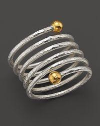 Gurhan | Metallic Spring Ring | Lyst
