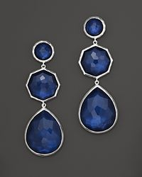 Ippolita - Metallic Ippolita Midnight Wonderland Sterling Silver Rock Candy Crazy 8s Earrings in Midnight - Lyst