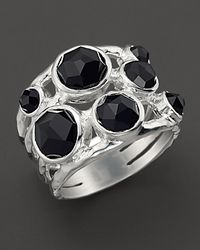 Ippolita | Sterling Silver Rock Candy Constellation Ring In Black Onyx | Lyst