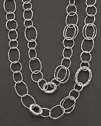 "Ippolita | Metallic Sterling Silver ""bastille"" Necklace 