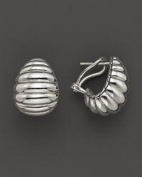 John Hardy - Metallic Bedeg Sterling Silver Buddha Belly Earrings - Lyst