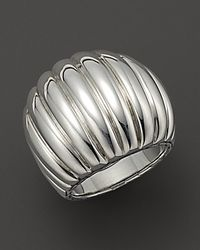 John Hardy | Metallic Bedeg Sterling Silver Dome Ring | Lyst