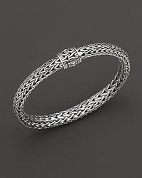 John Hardy - Metallic Medium Classic Chain Bracelet With Chain Clasp - Lyst
