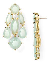kate spade new york - Blue Statement Earrings - Lyst