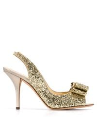 kate spade new york | Metallic Pumps - Charm Glitter | Lyst