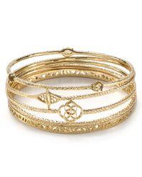 Kendra Scott - Metallic Jordana Bracelets Set Of Five - Lyst
