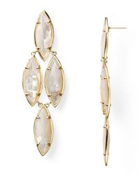 Kendra Scott - Metallic Arminta Earrings - Lyst