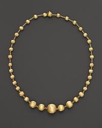 Marco Bicego | 18 K Yellow Gold Bead Necklace, 17"
