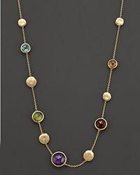 Marco Bicego | Multicolor Semi Precious Stone Necklace | Lyst