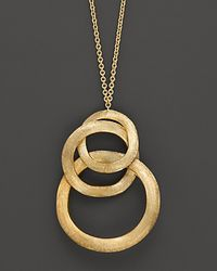 Marco Bicego | Yellow Jaipur Link Gold Pendant Necklace | Lyst