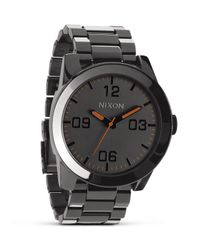 Nixon - Gray The Corporal Ss Watch, 48mm for Men - Lyst