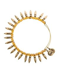 ALEX AND ANI | Metallic Spike Of Confidence Bangle | Lyst