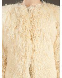 Alexander McQueen | Natural Mongolian Jacket | Lyst