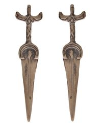 Alkemie | Metallic Sword Earring | Lyst