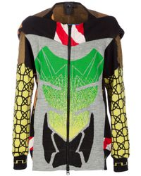 Bernhard Willhelm | Multicolor Patterned Hoodie for Men | Lyst