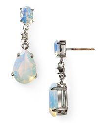 Carolee | Blue Double Drop Earrings | Lyst
