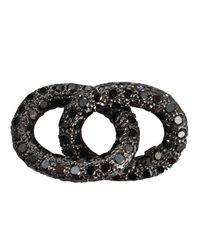 Carolina Bucci - Black Diamond Double Links - Lyst
