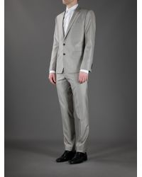Dolce & Gabbana - Gray Martini Suit for Men - Lyst