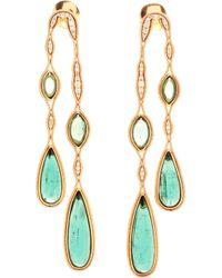 Fernando Jorge | Metallic 18k Yellow Gold Double Fluid Drop Earrings | Lyst