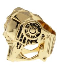 Han Cholo | Metallic Lioness Ring for Men | Lyst