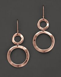Ippolita - Pink Rosé Snowman Earrings - Lyst