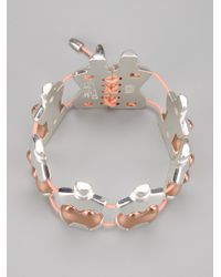 Jean Paul Gaultier - Metallic Perfume Bottle Bracelet - Lyst