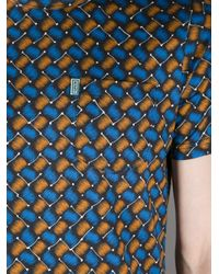 KENZO | Orange Printed Tshirt for Men | Lyst