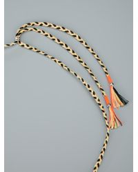 Lizzie Fortunato - Multicolor Amulet Necklace - Lyst