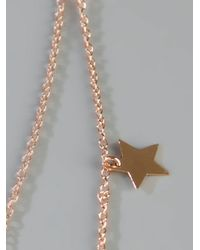 Maman Et Sophie | Metallic Star Charm Necklace | Lyst