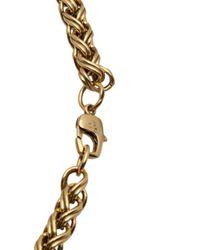 Nicole Romano - Metallic Indus Oval Necklace - Lyst