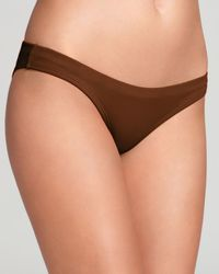 OndadeMar - Brown Full Coverage Bottom Metallic - Lyst