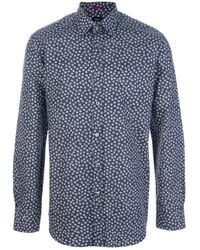Paul Smith | Blue Barnacle Print Shirt for Men | Lyst