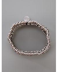 Philippe Audibert - Metallic Manchette Bracelet - Lyst