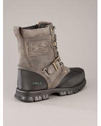 Polo Ralph Lauren | Gray Ankle Boot for Men | Lyst