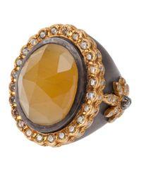 Sara Weinstock | Yellow Beryl Ring | Lyst
