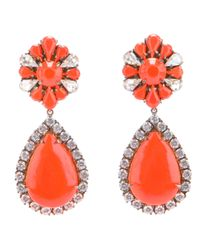 Shourouk | Orange Roma Earring | Lyst