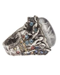 Stones Of Character - Metallic Ring for Men - Lyst