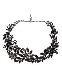 Tom Binns - Black Secret Garden Necklace - Lyst
