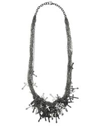 Tom Binns | Metallic Multi Cross Chain | Lyst