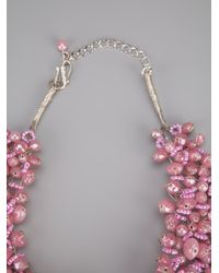 Twist 'n' Scout - Pink Beaded Necklace - Lyst