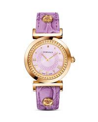 Versace | Pink Vanity Watch, 35mm | Lyst