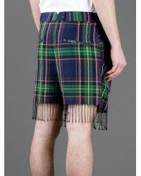 Vivienne Westwood - Blue Tasseled Shorts for Men - Lyst