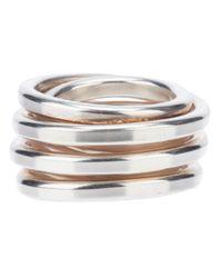 Werkstatt:münchen | Metallic Wound Ring for Men | Lyst