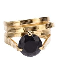 Wouters & Hendrix - Metallic Onyx Ring Set - Lyst