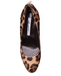 Brian Atwood | Multicolor India Pumps in Leopard Ponyhair | Lyst